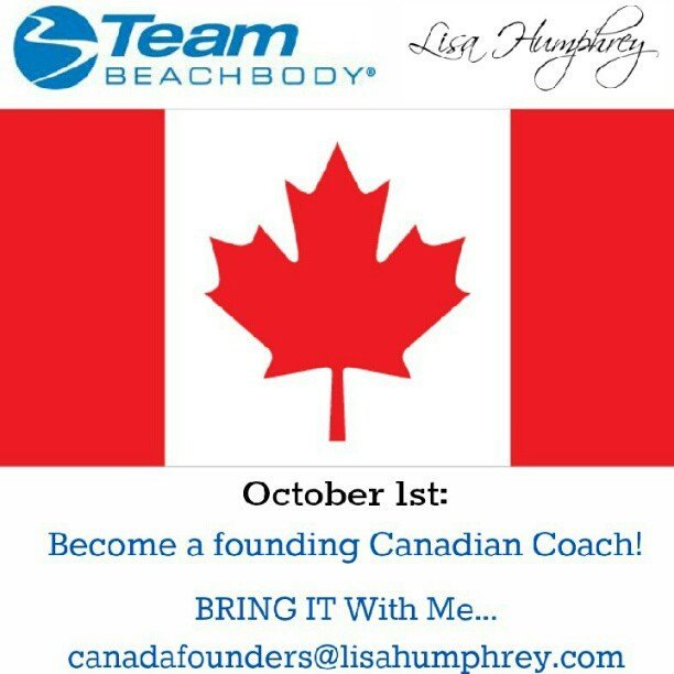 Team Beachbody Opportunity Opens in Canada!