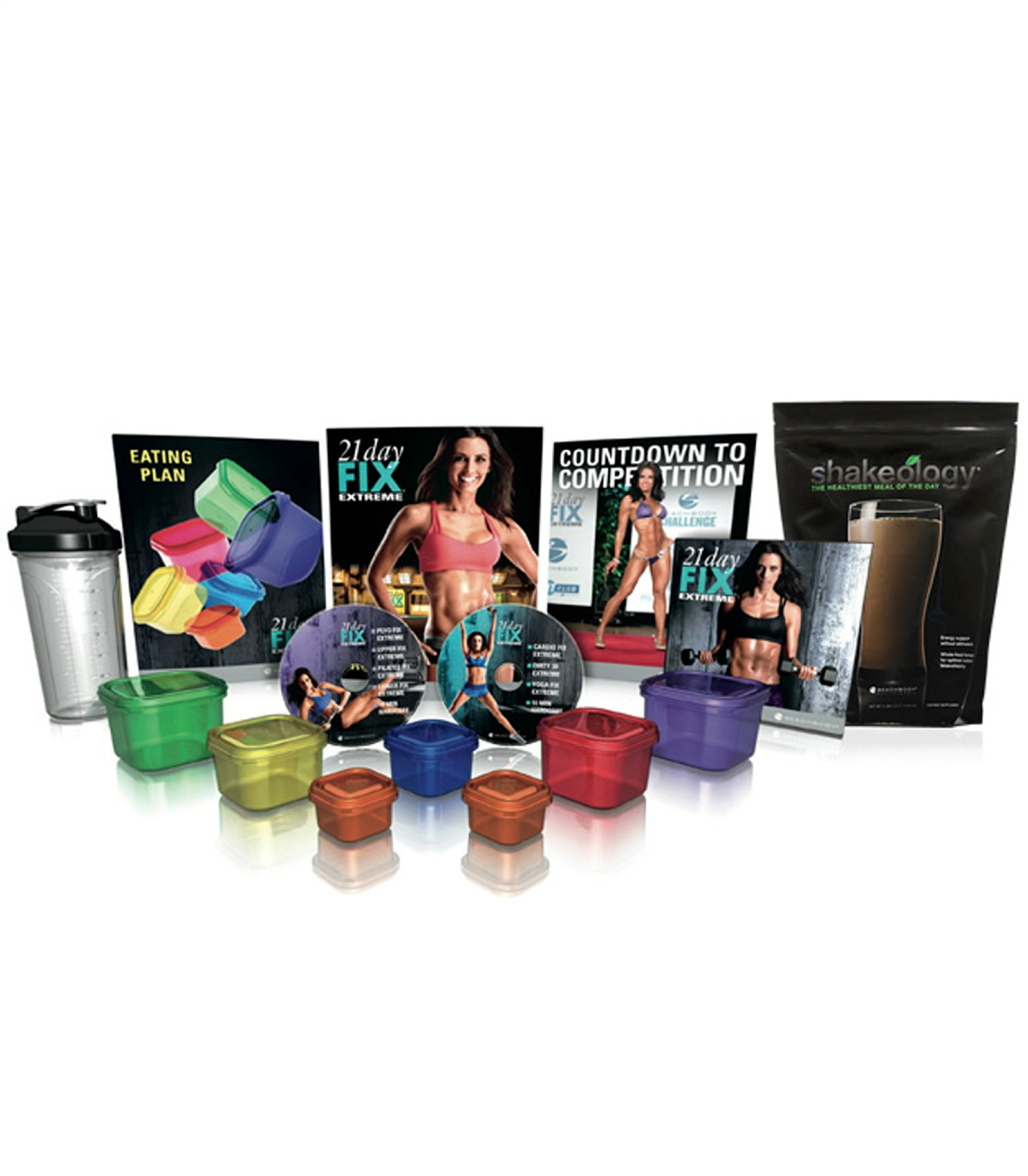 21 Day Fix Extreme & Shakeology Pack