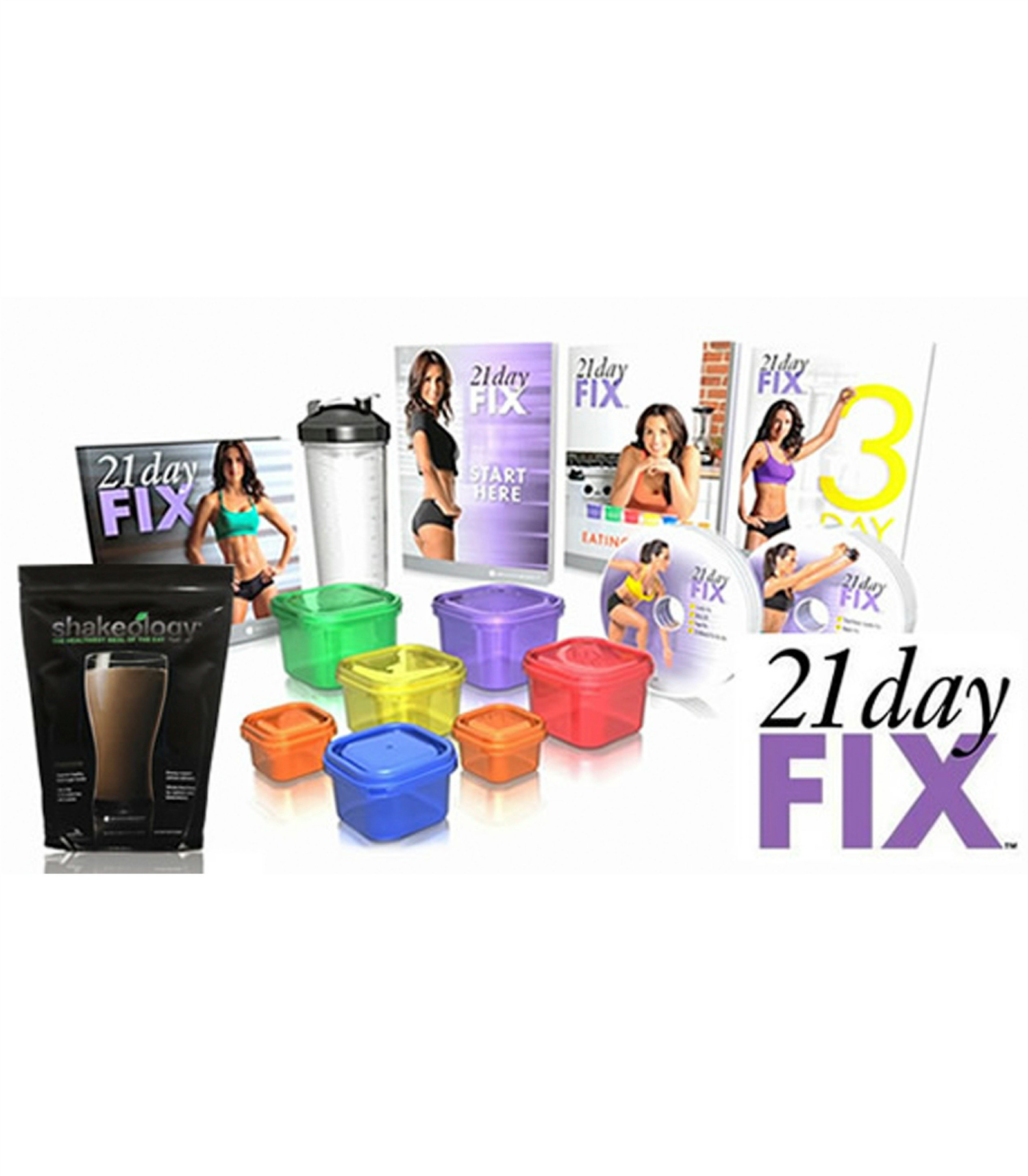 21 Day Fix & Shakeology Pack