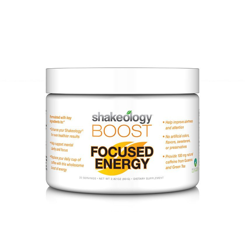 Shakeology Boost: Focused Energy