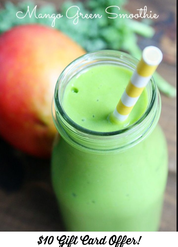 Greenberry Mango Shakeology Smoothie