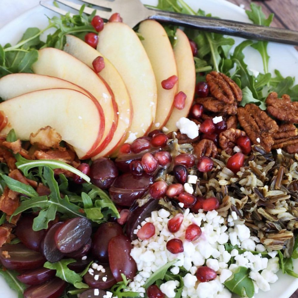 Wild Rice Harvest Salad
