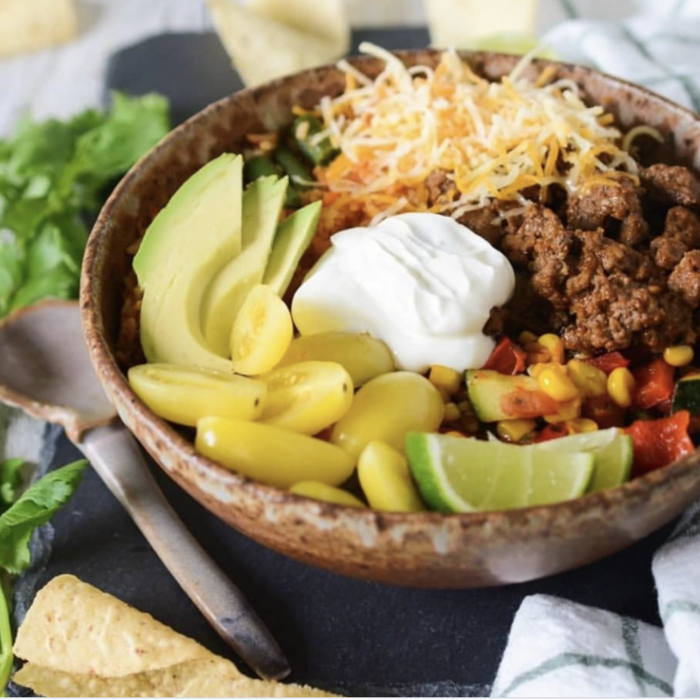 Healthy Taco Bowl Salad